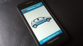 UK Car Driving Theory Test for BlackBerry 10