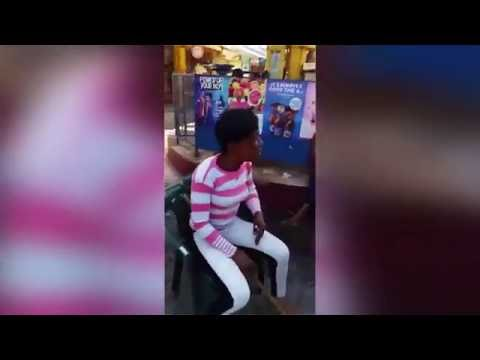 P.N.P SUPPORTER  CUSSING MAN FOR DISRESPECTING PORTIA SIMPSON - MILLER