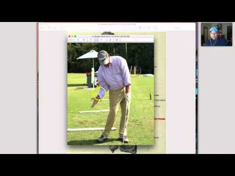 The Golf Downswing:  How gravity is your friend! week#7