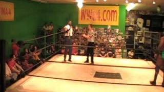 WWA4 Uhaa Nation vs Mr. Hughes