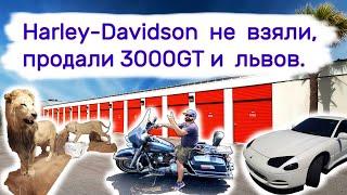 Harley-Davidson не взяли, продали 3000GT и львов.