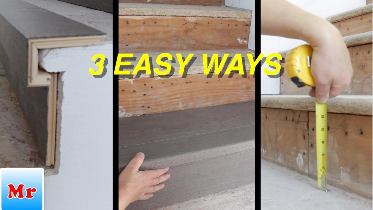 3 Easy Ways How To Make Stairs Prep For Laminate And Hardwood