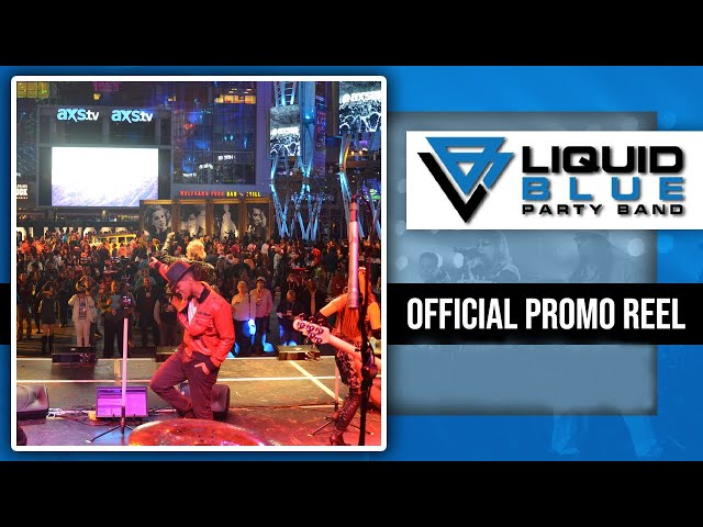 Liquid Blue Party Band Video 2015