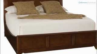 Cherry Grove The New Generation Low Profile  Sleigh Bedroom Collection From American Drew