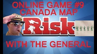 Risk Online Game #9 - Canada Map  - Commentary With The General HD(Series 2)