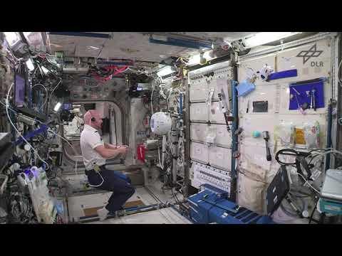 Comenzó a hablar CIMON, el nuevo robot de la Estación Espacial Internacional