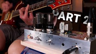 Building a Guitar Amp From Old Tube Radio (+ LESSONS LEARNED) || Part 2