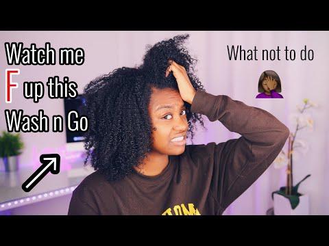 Wash N Go MISTAKES on Low Porosity Hair
