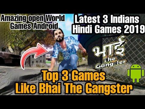 Top 3 Hindi Games Like Bhai The Gangster    Bangkok Update Games    Hindi Games    2019 Android Game