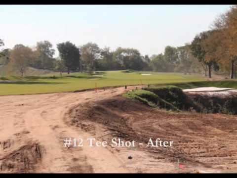 Philadelphia Cricket Club Wissahickon Course - Before and After Video Montage
