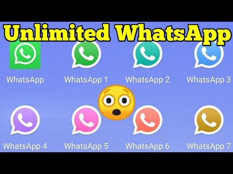 How To Use More Than One WhatsApp In One Phone | Clone WhatsApp