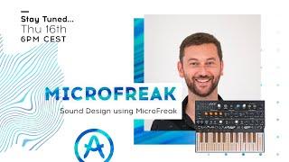 Live Workshop | Sound Design with MicroFreak (with Bryan Borcherds)