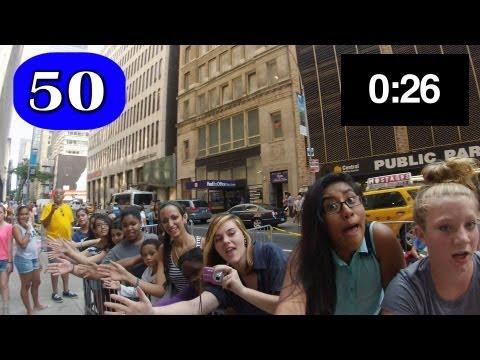 High-Five Challenge: Rockefeller Center vs. Times Square