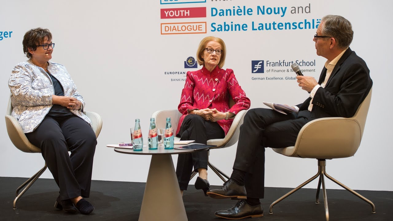 ECB Youth Dialogue with Danièle Nouy and Sabine Lautenschläger, Frankfurt am Main
