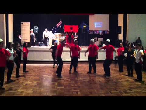 Albanian Community Dancing Group Melbourne Australia
