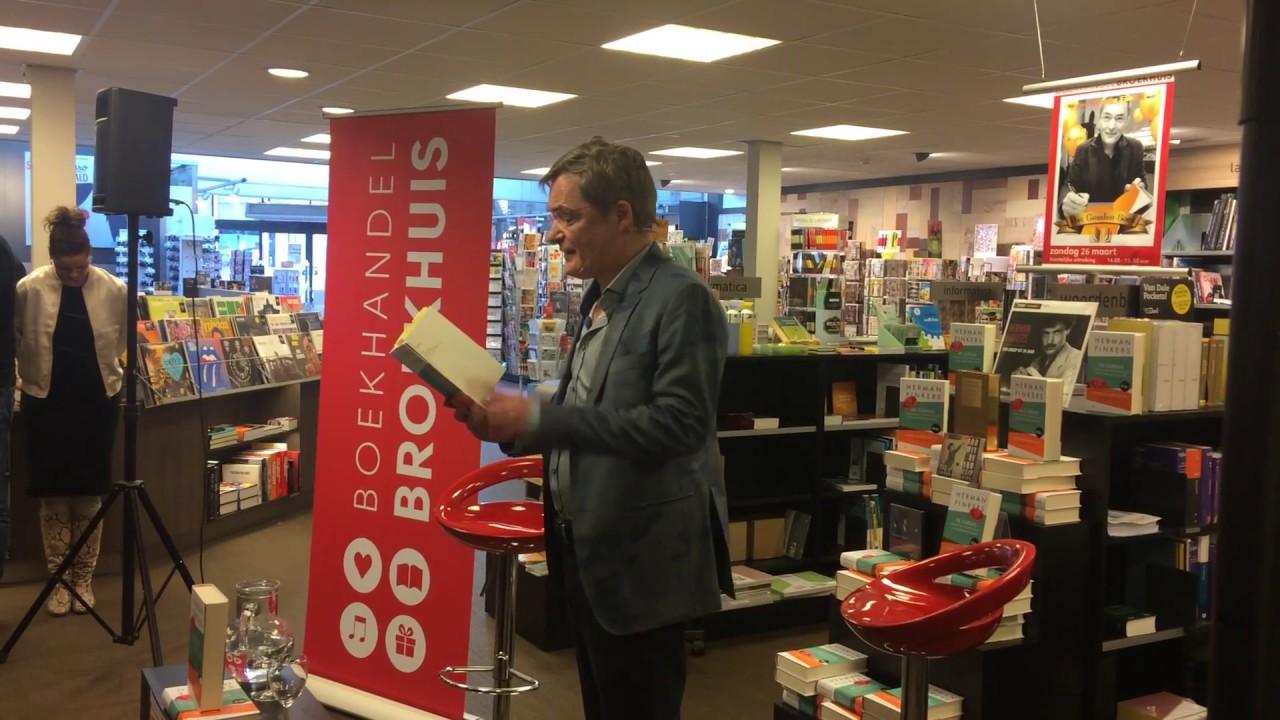 Herman Finkers Krijgt Een Gouden Boek