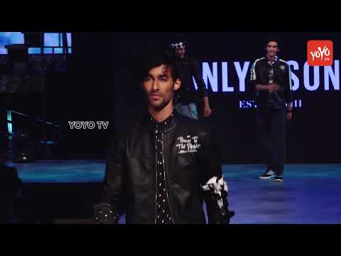 Fashion Show | Male Models RampWalk Autumn Winter 18 Collection | Trendy Male Clothes| YOYO TV Hindi