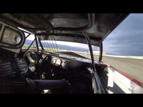 Jeremy Pundt In-car camera from Lee County Speedway heat race IMCA stock car