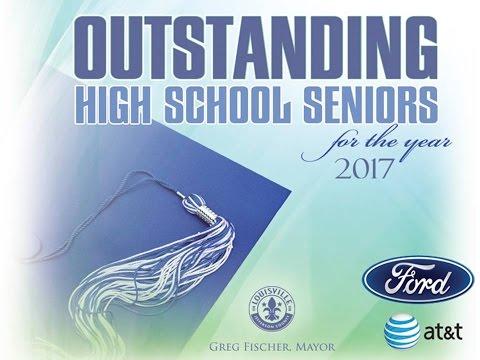 Outstanding HS Seniors 2017 @JCPSKY @ArchLouKY