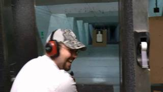 Desert Eagle Recoil Nearly Hits Dude's Head