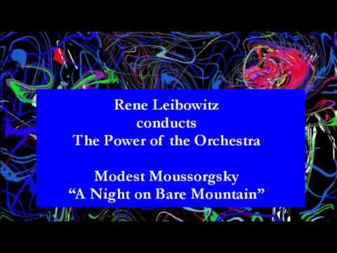 Mussorgsky - Stokowski: A Night On Bare Mountain - Rene Leibowitz