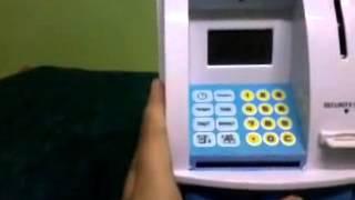 Mesin celengan ATM Anak (Mainan Anak Edukatif)