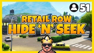 RETAIL ROW HIDE 'N' SEEK MED 51 SPELARE | FORTNITE PÅ SVENSKA!