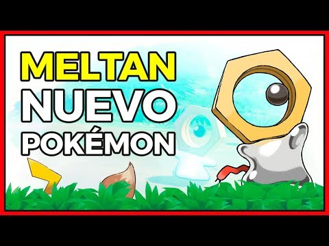 ¡DESVELADO EL NUEVO POKÉMON SINGULAR, MELTAN! | LET'S GO Y POKÉMON GO SE UNEN thumbnail