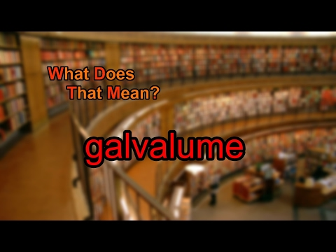 What does galvalume mean? - YouTube