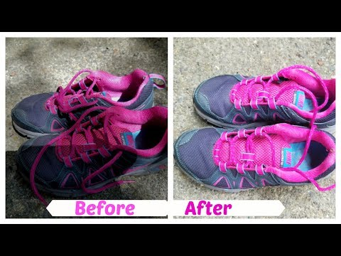 How To Clean Sports Shoes || Keep Your Shoes Smelling Fresh & Germs Free Tips & Tricks IN Hindi