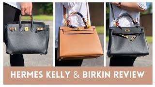 Hermes Kelly Sellier Kelly Retourne or Birkin Hermes Review and Handbag Collection Comparison