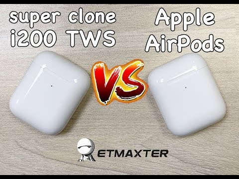 i200-tws-unboxing-super-copy-airpods-vs-original-airpods-second-generation-review