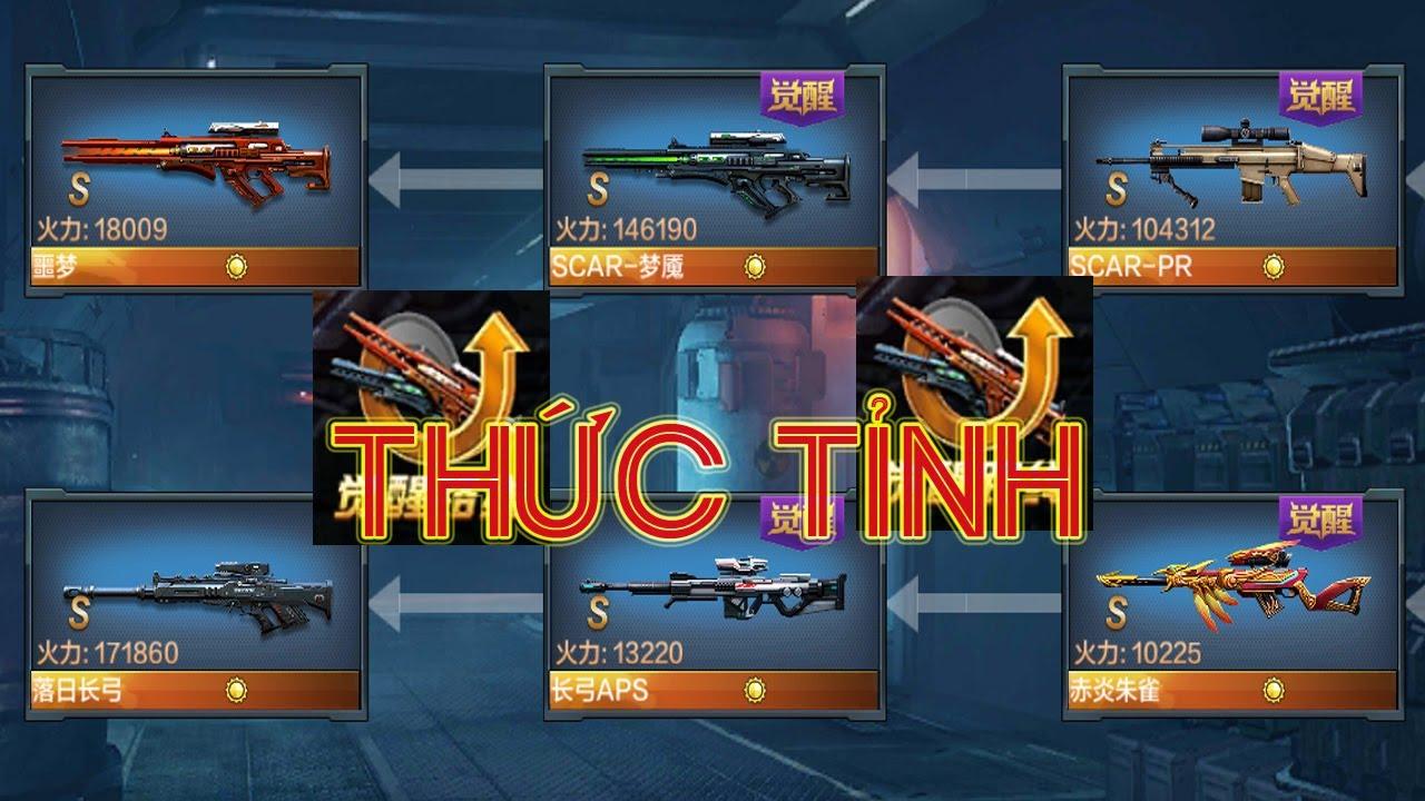 Chiến Dịch Huyền Thoại – Tổng hợp tất cả các loại súng có thể lên đời (Thức tỉnh) được trong CDHT