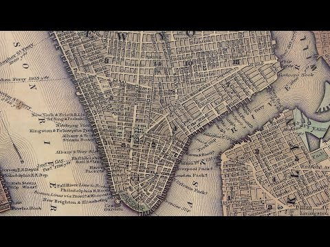 Manhattan History and Map (1847)