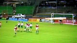 Luxemburg -  Portugal 1 - 1 Carlo Weis