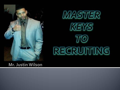WEALTH GENERATORS MASTER KEYS TO RECRUITING