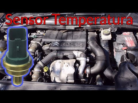 Sustitución Sensor Temperatura Citroën C4 1.6 HDI 90 Cv