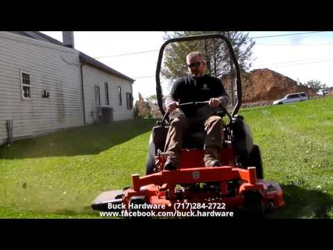 Husqvarna PZT commercial mower @ CanadaProEquipment Field Day by