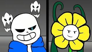 Undertale 地域傳說動畫翻譯_叛徒與狂妄自傲之人  Determination. - Undertale Animation thumbnail