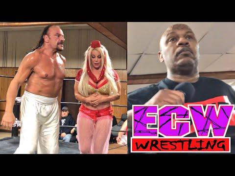 ECW Legends Sabu and New Jack In Action at SWF Wrestling Event - November 3, 2018