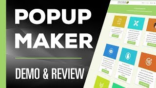 Popup Maker Demo & Review | Plugin for Wordpress