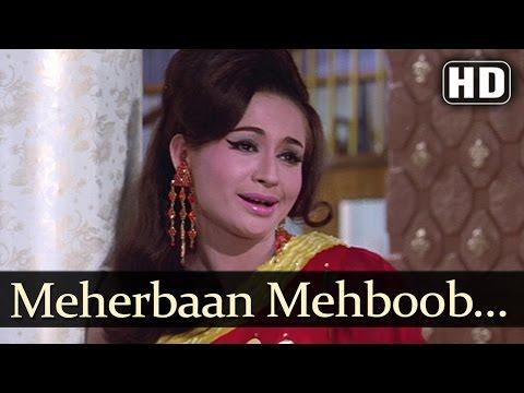 Meherbaan Mehboob Dilber - Aansoo Ban Gaye Phool Song - Helen - Ashok Kumar