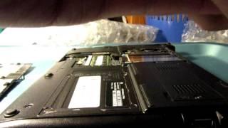 HP EliteBook 2540p HDD Caddy Install