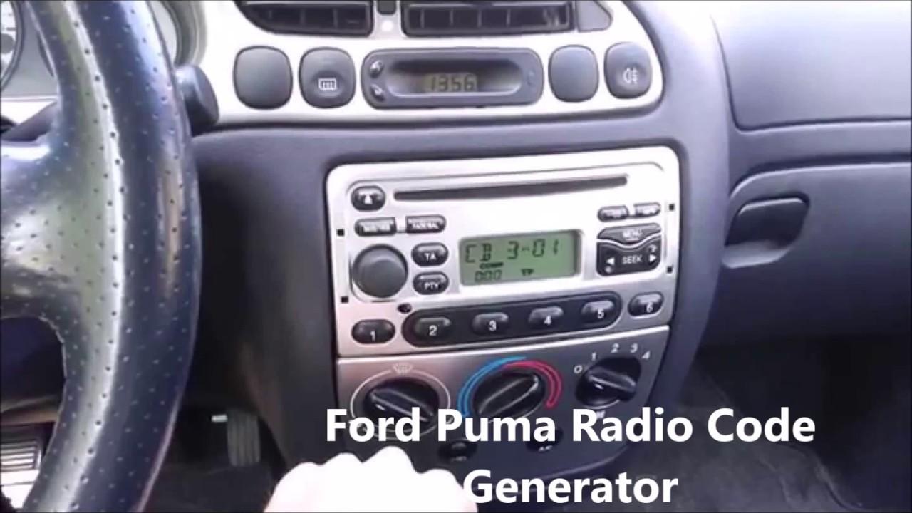 autoradio ford puma
