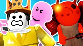 DONT TRUST ANYONE! (Roblox Piggy Traitor Mode)