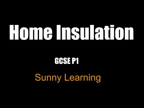 Home Insulation - AQA GCSE Science Physics
