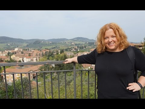Driving Through Tuscany - Europe Travel Vlog Day 10