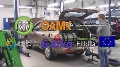Bensiinisyöpön maasturin muunnos kaasuautoksi