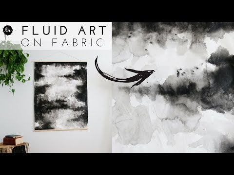 Fluid Art DIY ,  DIY Fluid Acrylics , Trendy home decor , Mo
