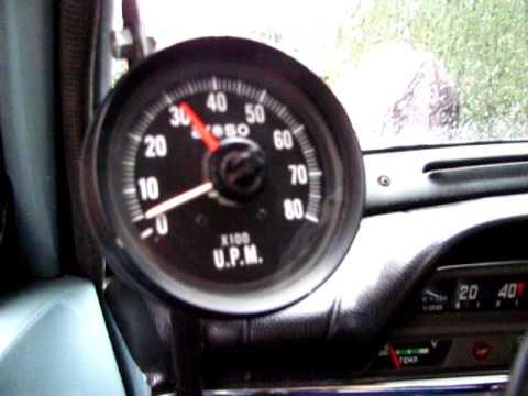 Volvo Amazon 121 Rev counter Tachometer - YouTube